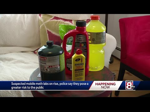 Police concerned about increase in mobile meth labs