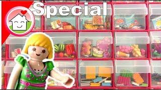 Playmobil Kleinteile Sammlung und Kreativlager von Familie Hauser - Video für Kinder - deutsch