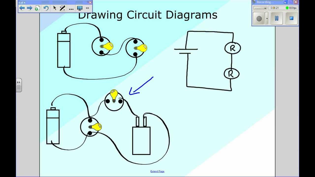 12th Grade Physics Circuit Diagrams Youtube Diagram