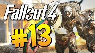 Прохождение Fallout 4 - Битва с Лебедем Толстяк в Деле 13 60 FPS