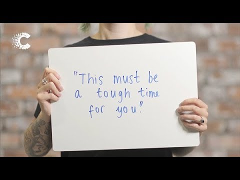 How to talk to someone with cancer | Top tips from patients (2019) | Cancer Research UK