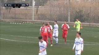Spielaufzeichnung: SK Sturm Graz 1:1 FC Uta Arad (0:1)
