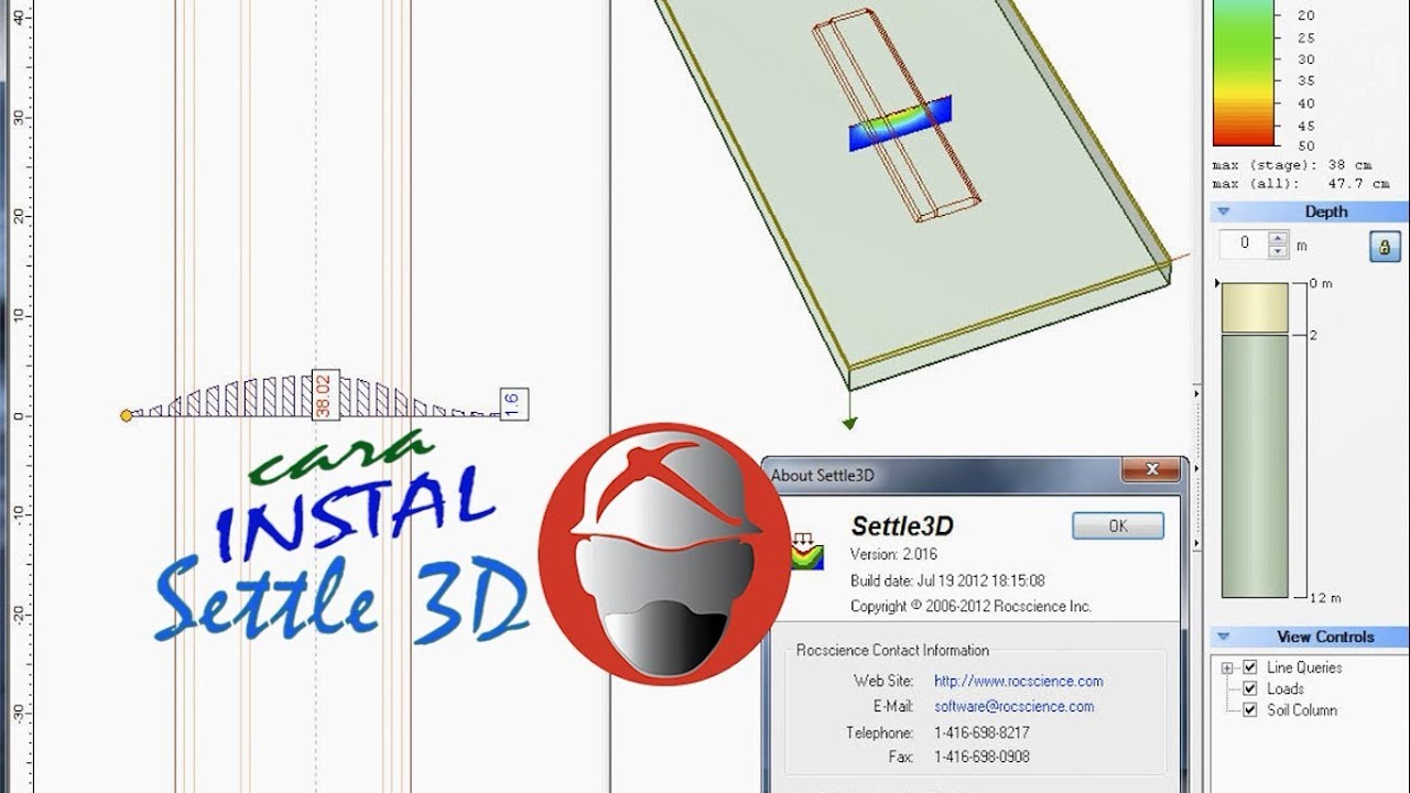 Cara Instal Rocscience Settle 3D | Lectures For Life