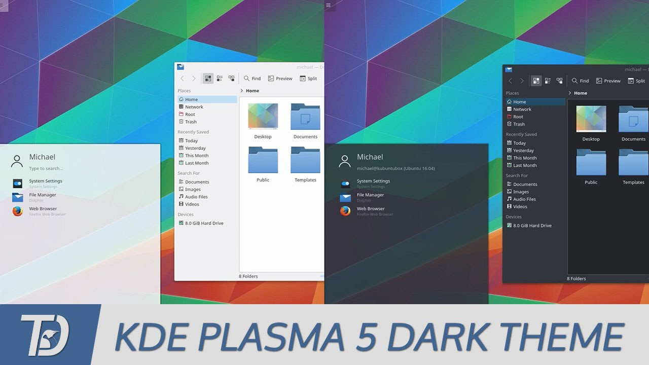 How To Use a Global Dark Theme in KDE Plasma 5 (Breeze-Dark)