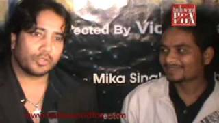 Mika Singh (Film Soni De Nakhare) Song Recording (www.bollywoodfox.com).flv