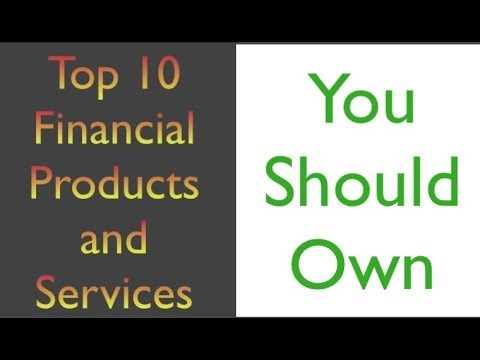 Top Ten Financial Products