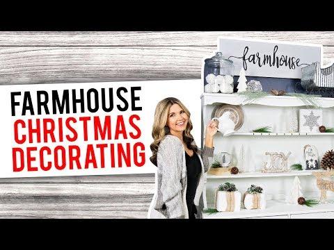 Farmhouse Christmas Decorating ❄️ Farmhouse Christmas Decor DIYs