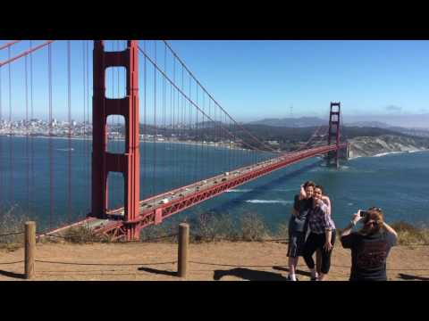 Marin Headlands with great view of San Francisco and Golden Gate Bridge