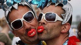 Как ты относишься к геям и вегетарианцам?