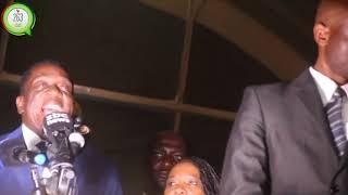 Breaking Emmerson Dambudzo Mnangangwa back in Zimbabwe