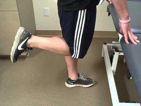 standing knee flexion  youtube