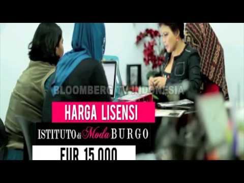Bloomberg tv special on istituto di moda burgo youtube for Burgo istituto