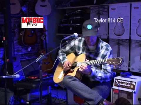 TAYLOR 814ce Acoustie-Electric Guitar - Vlatko Stefanovski