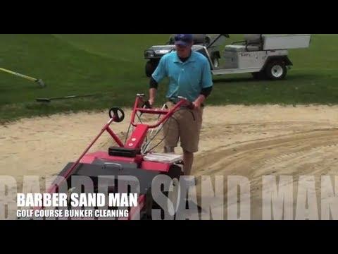 Sand Man Bunker Cleaner
