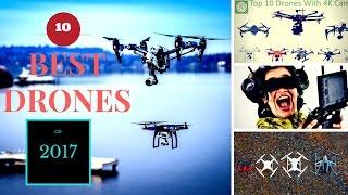 10 best 4k camera drones of 2017!!!