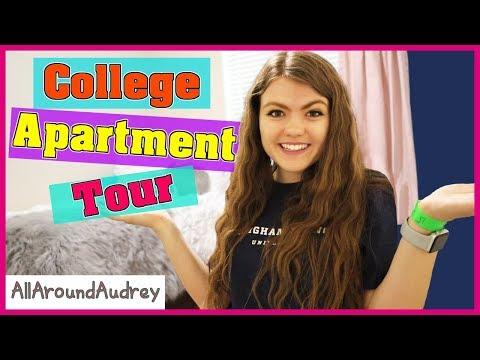 College Apartment Tour 2018 / AllAroundAudrey