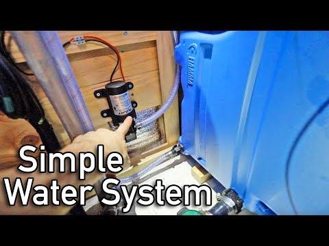 AMAZING DIY WATER SYSTEM For Van Life In A Sprinter Conversion Camper Van