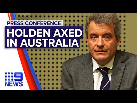 Holden Will Be Axed In Australia By 2021 | Nine News Australia