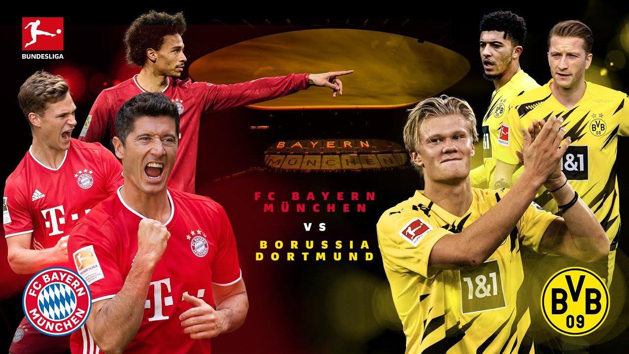 Der Klassiker Electrifies The World - All Eyes On Bayern vs. Dortmund