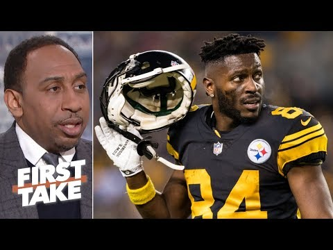 Steelers can avoid Antonio Brown drama if they trade him to the NFC – Stephen A. | First Take