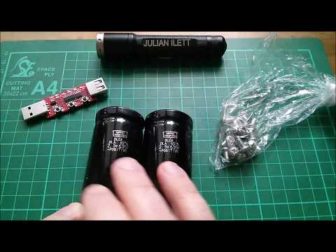 Julian's Postbag: #108 - Quick Charge and SuperCapacitors