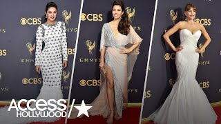 2017 Emmy Fashion Roundup: From Sofia Vergara To Jessica Biel | Emmys 2017 | Access Hollywood