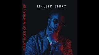 Watch Maleek Berry What If video