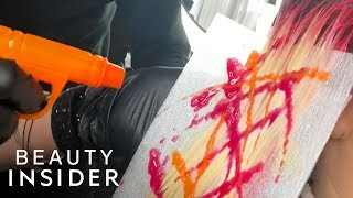 Why You Should Dye Your Hair With A Water Gun