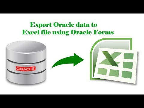 Download Create Excel Pdf Html Etc Report From Oracle Ten