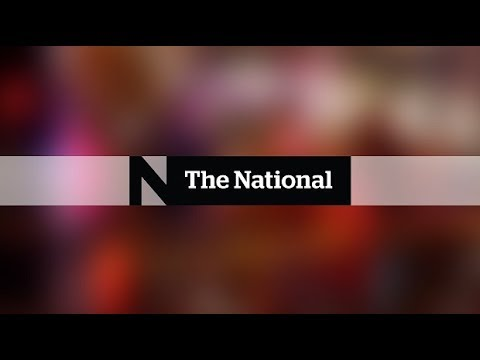 WATCH LIVE: The National for Monday January 1, 2018