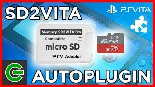 Setting up SD2VITA on PS Vita using the Autoplugin