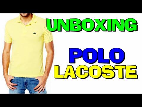 Unboxing Camisa Polo Lacoste Original L1212 Dafiti (PT-BR) HD