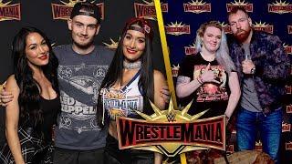 Meeting The Bellas & Dean Ambrose At WrestleMania Axxess | Brandon Hodge Vlog #83