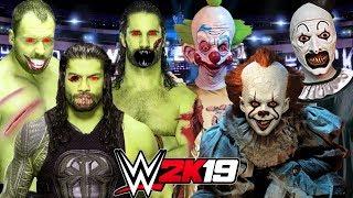 THE UNDEAD SHIELD vs KRAZY KLOWNZ | WWE 2K19