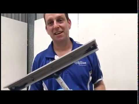 Epoxy Resin Flooring - Testing the Easy Squeegee