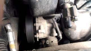 Неисправность помпы двигателя z18xer