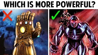 Marvel Weapons More Powerful Than The Infinity Gauntlet