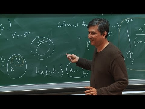 Maxim Kontsevich - Semi-infinite topology of the complexified path integral