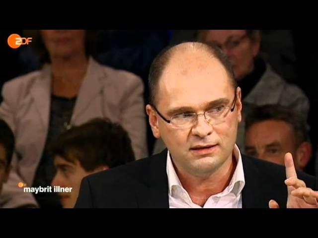 Richard Sulik bei Maybritt Illner - Ausschnitt - Milliardengrab Griechenland? die Bananenrepublik