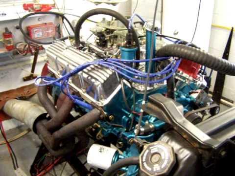 BangShift com 401 V8 engine dyno American Motors 401ci V8
