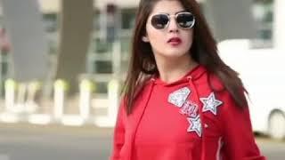 Kuri Lahore Di A  Guru Randhawa Red Beautiful Girl