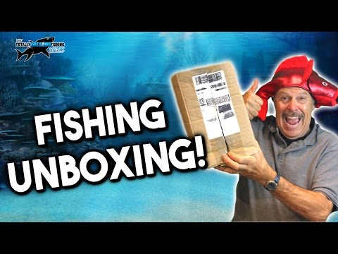 Unboxing New Fishing Tackle! | TAFishing