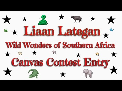 Liaan Lategan Wild Wonders of Southern Africa Canvas Contest Entry