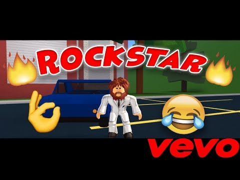 POST MALONE - ROCKSTAR ROBLOX MUSIC VIDEO!