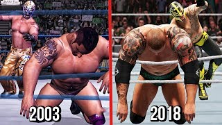 WWE 2K19 - The Evolution Of Rey Mysterio 619! ( Here Comes The Pain To WWE 2K19 )