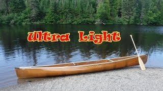 Wenonah Ultra Light Kevlar Prism Solo Canoe Test