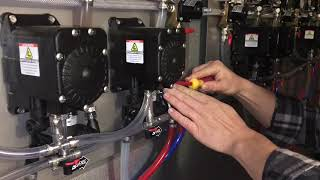 Changing Flow Reversal Valve on Bottoms UP Beer System