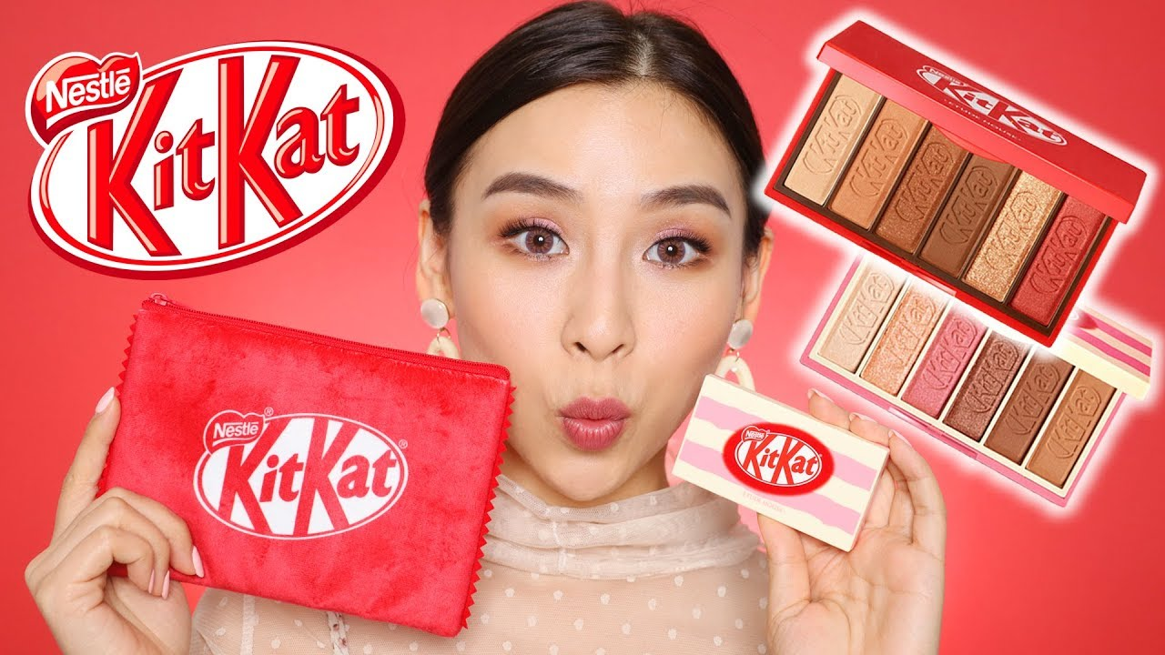 Trying Kit Kat Makeup From Etude House Tina Tries It Youtube