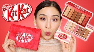 Trying Kit Kat Makeup from Etude House 🍫 | Tina Tries It