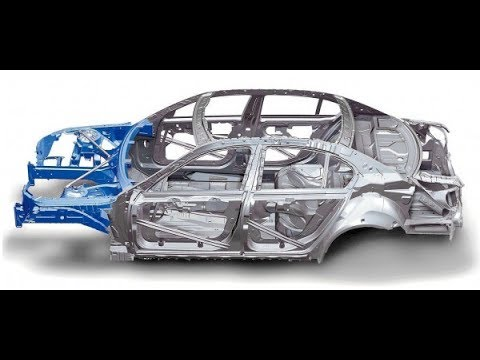 Ing Salvage Cars For Rebuild Unibody Structure Frame Damage Explained